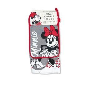 Disney Minnie Mouse 3 Piece Kitchen Set